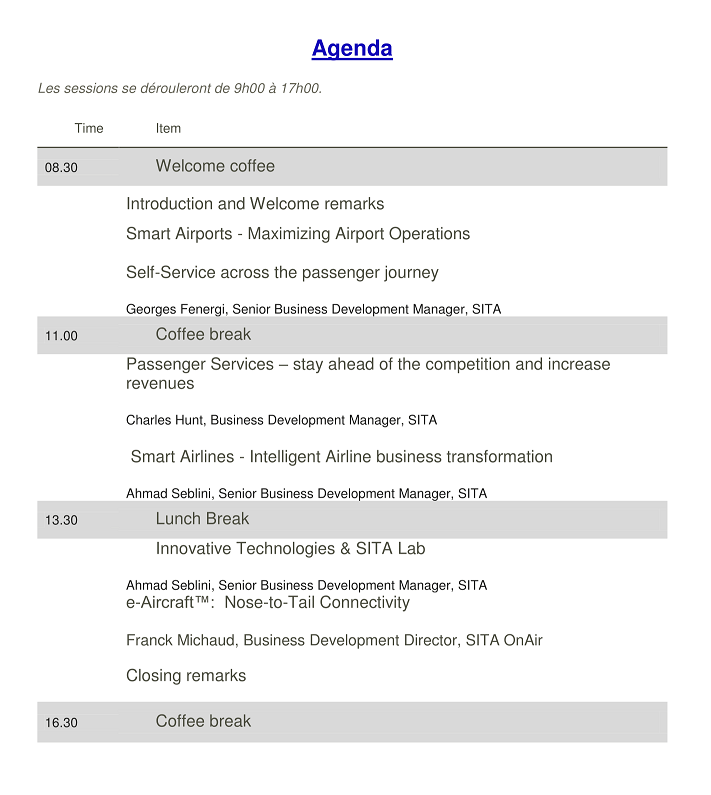 AGENDA Morocco Innovation Day1