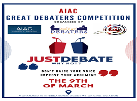 AIAC English club_Great Debaters compétition