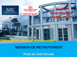 AIAC_RAM : Session de recrutement
